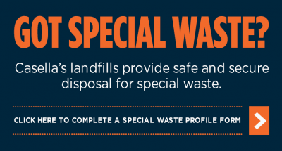 Special Waste - New Hampshire